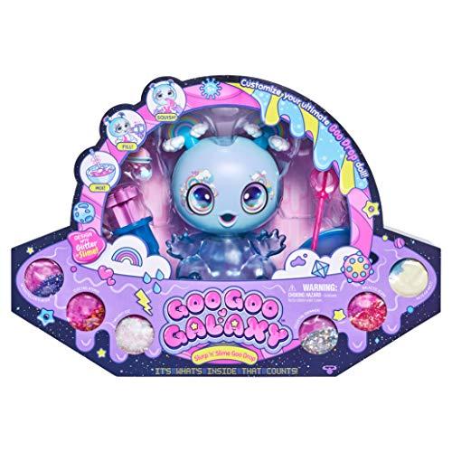 Goo Goo Galaxy 8 inch Doll - DIY Slime & Glitter Kit - Create, Feed, Fill & Refill XL Doll