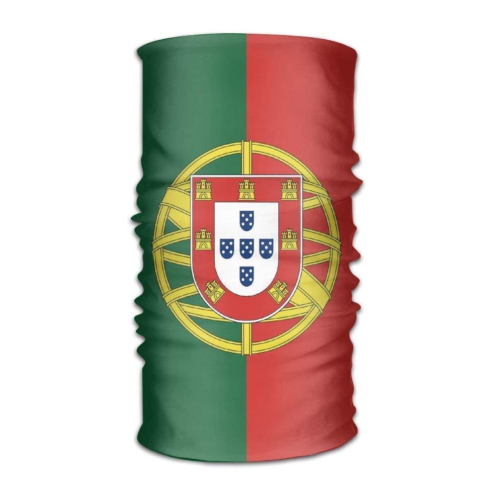 No Soy Como Tu Balaclava Beautiful Portugal Flag Headwrap Unisex Multifunction Headwear Polyester Quick Dry Soft Headband Neck Scarf,Premium Headdress Travel