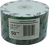 CheckOutStore 1,200 52x CD-R 80min 700MB White Top (Shrink Wrap)