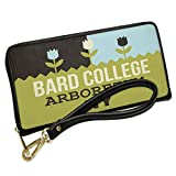 Wallet Clutch US Gardens Bard College Arboretum - NY with Removable Wristlet Strap Neonblond