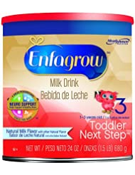 Enfagrow美赞臣金樽3段幼儿配方奶粉24盎司罐装Toddler Next 原味折后 $14.98