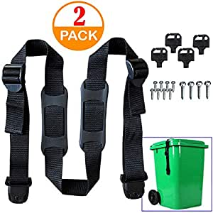 Amazon Com Genleas Cover Secure Lock Straps With Key And