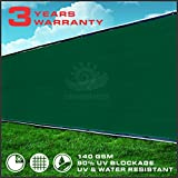 Windscreen4less® Commercial Grade 4'x50' Green Fence Screen Privacy Screen w/ Brass Grommets - 3 Years Warranty (Custom Sizes Available)