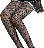 SUPPION Fashion Women's Net Fishnet Bodystockings Pattern Pantyhose Tights Stockings