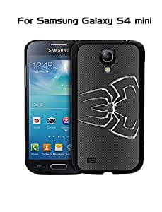 Galaxy S4 Mini Funda Case Protection Spiderman Logo Marvel Comics Unique Design Drop Proof Ultra Hybrid Phone Cover Compatible With Samsung Galaxy S4 Mini