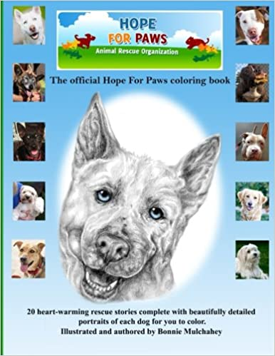 Amazon Hope For Paws Official Keepsake Coloring Book