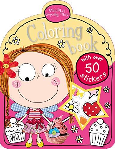 Camilla the Cupcake Fairy Mini Coloring
