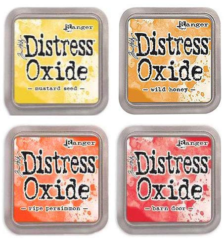 Tim Holtz Ranger Distress Oxide Ink Bundle J - Four 3