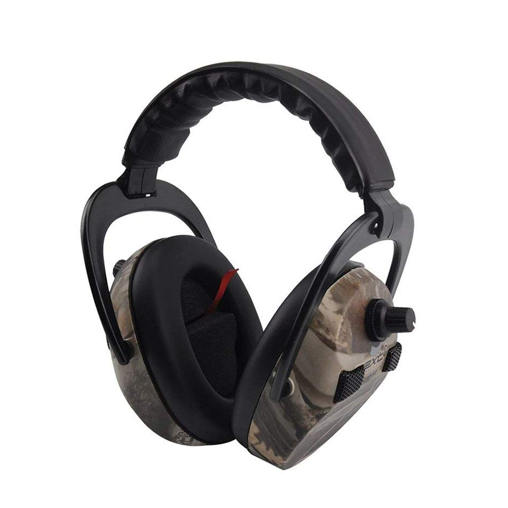 Protecteurs d'oreilles électroniques pour le tir et la chasse, protège-oreilles de sécurité professionnelle Protear avec amplification et réduction du bruit - NRR 23 dB