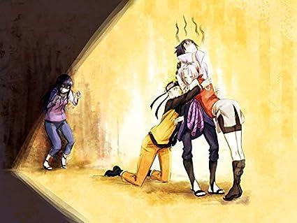 Amazoncom Naruto Uchiha Sasuke Haruno Sakura Hyuuga Hinata