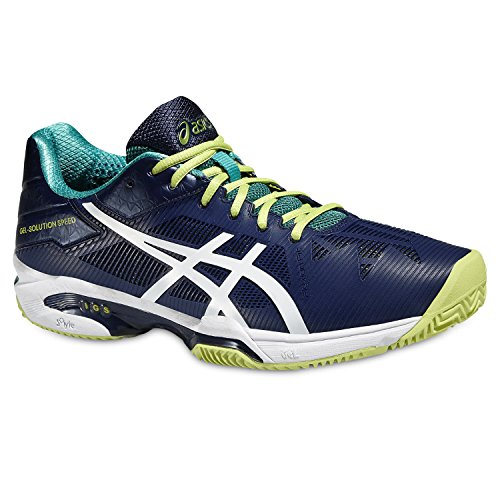 Tennis Gris Homme 3 Speed Indigo 5001 de Chaussures Gel Blue White Solution Asics xTBg1wAqT