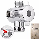 camaTech Handheld Shower and Shower Head Shower Arm 3-Way...