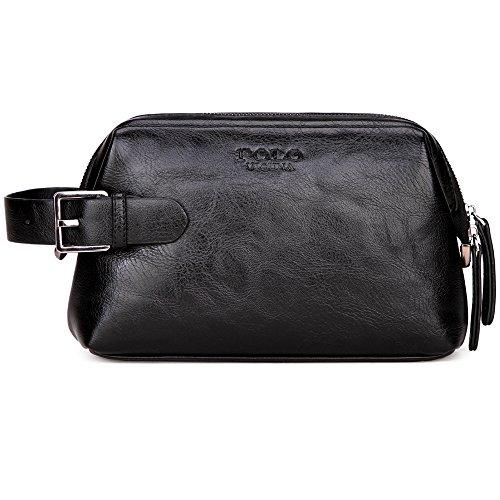 VICUNA POLO Toiletry Bag Shaving Bag Travel Makeup Bag Organizer Case For Men
