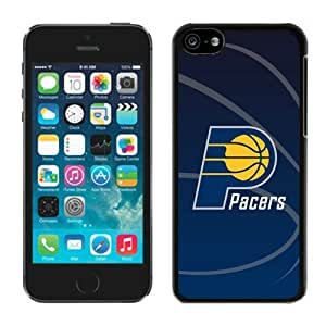 New Custom Design Cover Case For iPhone 5C Generation Indiana Pacers 11 Black Phone Case