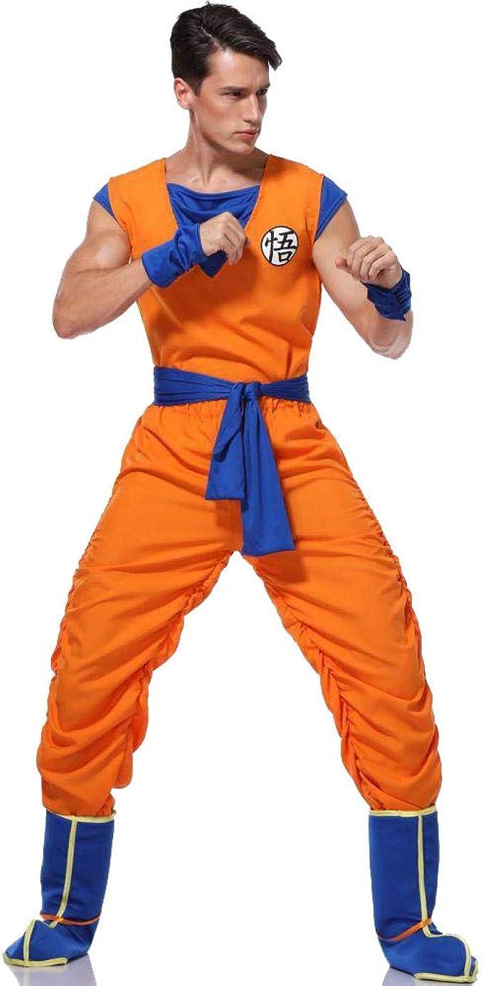 Dragon Ball Z Goku Kostum Anzug Anime Dragon Ball Son Goku Cosplay Kostume Uniformen Erwachsene Verkleidung Gr Xl Cosplay Amazon De Bekleidung
