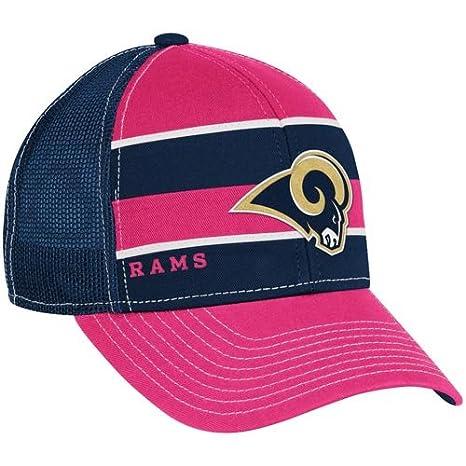 ... cheap reebok st. louis rams womens breast cancer awareness trucker hat  adjustable bc819 5a05f 1aa5d73b6
