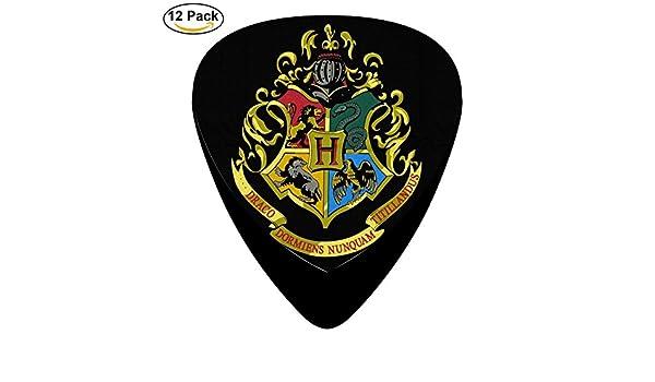 Harry Potter Hogwarts Logo Classic para guitarra celuloide púas ...