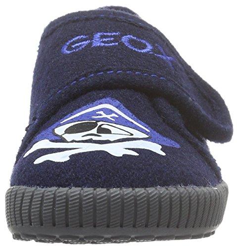 Geox J Home B, Zapatillas Bajas Niños Blau (NAVYC4002)