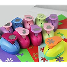 "decoration 28 options 1""2.5cm handmade work children DIY tool large size paper EVA sponge paper craft punch for card scrapbook labor-saving (size:10)"