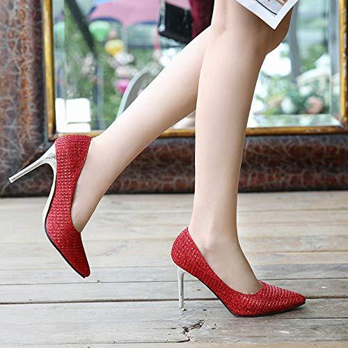 Rouge Renly Escarpins 5 MaiX10 EU 36 pour 1 Red Femme ZrrPXqw6