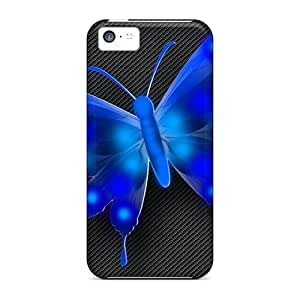 Ideal LastMemory Case Cover For Iphone 5c(vector Butterfly), Protective Stylish Case