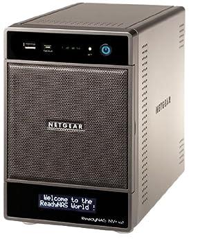 Netgear Ready Nas NV+ 4 Bay Gigabit Desktop Network Storage System