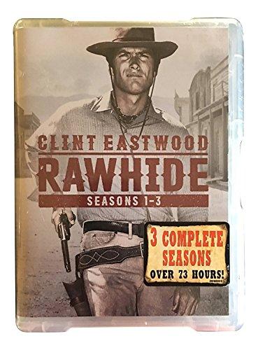 CBS (PARAMOUNT) Rawhide: Seasons 1-3-DVD 84 Episodes on 23 Discs