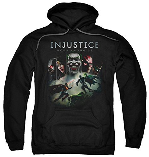 Price comparison product image Hoodie: Injustice Gods Among Us - Key Art Pullover Hoodie Size M