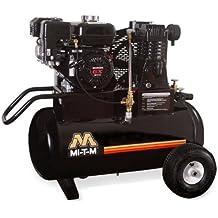 Mi-T-M AM1-PR07-20M Portable Air Compressor, 20-Gallon, Single Stage with Gasoline
