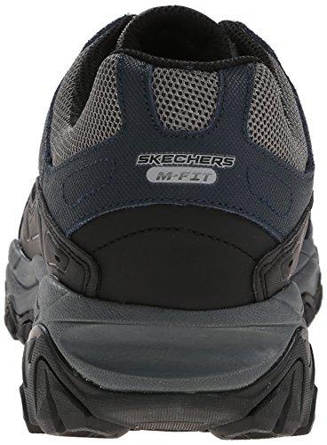 Skechers Sport ¨ Afterburn Grà ve Memory Foam Lace Sneaker up Azul