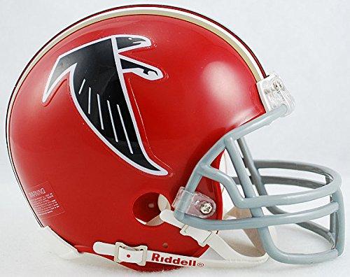 Riddell NFL Atlanta Falcons 1966-1969 Throwback Replica Vsr4 Mini Football Helmet 1969 Riddell Mini Replica