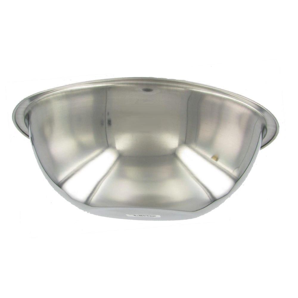 American Metalcraft SSB500 Stainless Steel Mixing Bowl, 11.5'' Diameter, Silver, 5-Quart