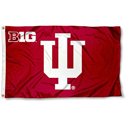 Indiana Hoosiers Big 10 3x5 Flag (Big Flags Ten)