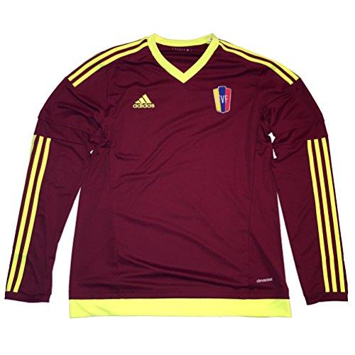 Venezuela Fvf Copa America 2015 Home Jersey Long Sleeve