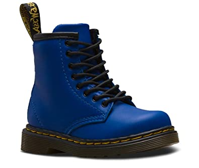 fbfd6932c25c4 Dr. Martens Kid's Collection Unisex 1460 Brooklee Boot (Toddler) Blue  Romario 6 M