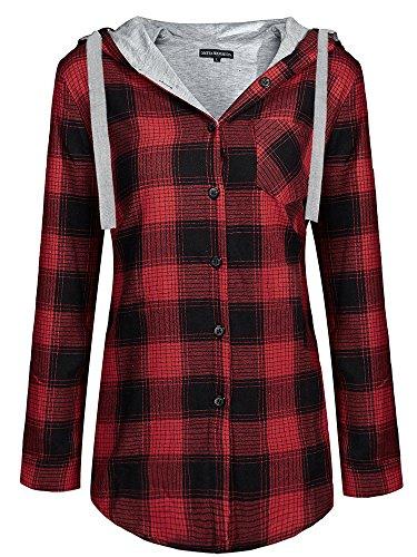 Flannel Womens Jacket - 7