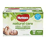 Huggies Natural Care Fragrance-Free Baby Wipes, Refill Pack, 1056 Count
