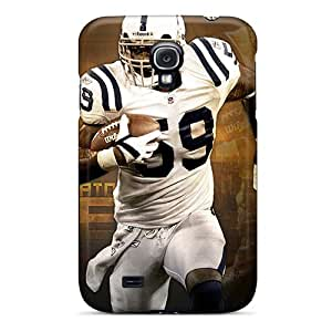 YOXIGKL Case Cover Protector Specially Made For Galaxy S4 Indianapolis Colts