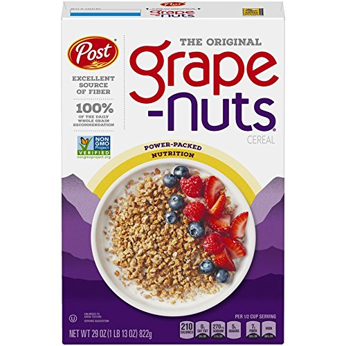 - Post Grape-Nuts Non GMO Breakfast Cereal, 29 Ounce (Pack of 10)