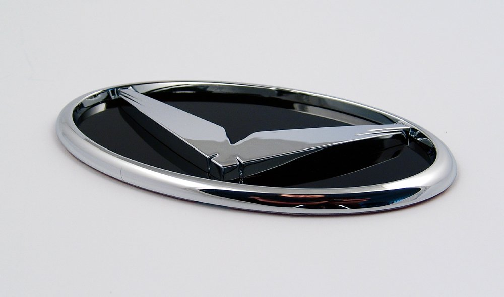 Zubeh/ör f/ür KIA Sportage 2010-2015 3D Emblem Eagle Adler f/ür das K/ühlergrill Grill Logo Tuning Grille