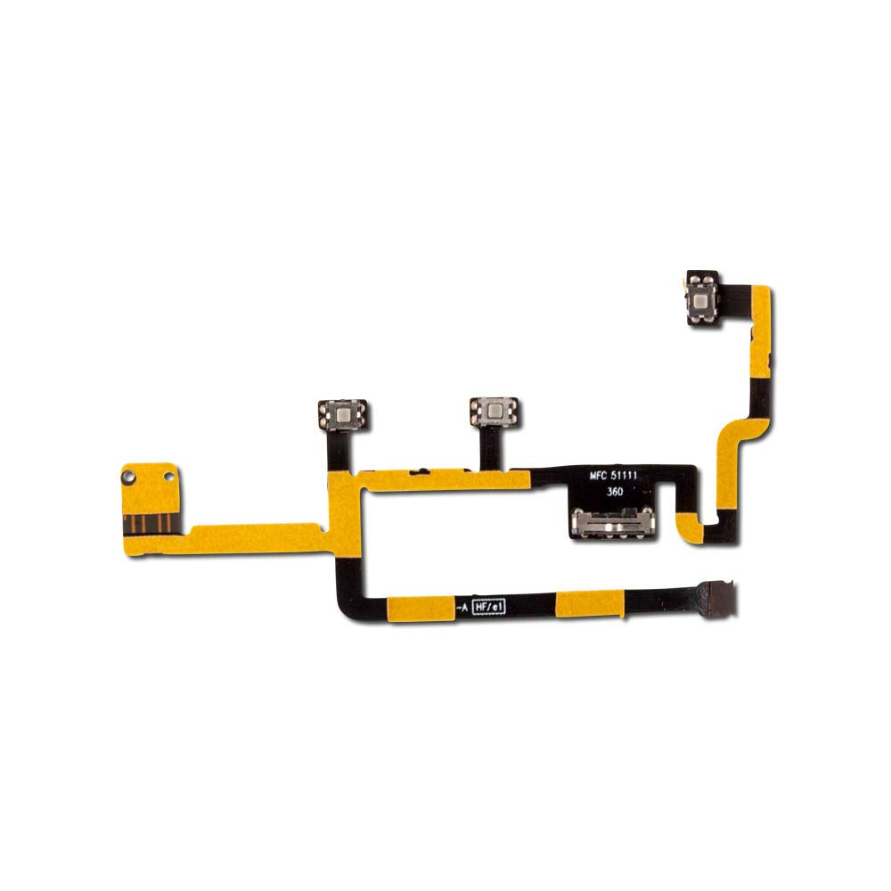 Power and Volume Flex Cable for Apple iPad 2 - CDMA (A1395, A1397, A1396)