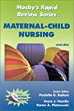 img - for Mosby's Rapid Review Series: Maternal-Child Nursing (Book with CD-ROM for Windows & Macintosh) book / textbook / text book