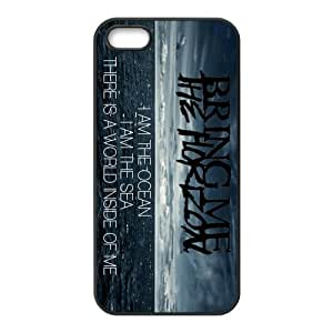 Snap-on TPU Rubber Coated Case Compatible with iPhone 5 / 6 plus 5.5 Covers [BMTH Bring Me to the Horizon]