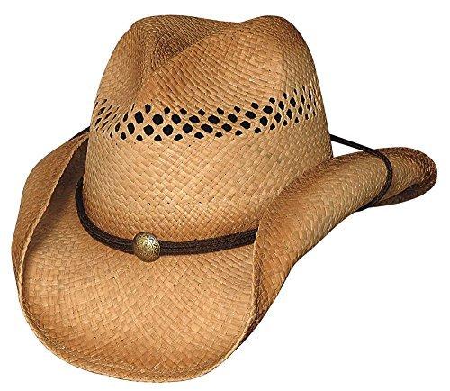 Bullhide Blaze - Raffia Straw Cowboy Hat (Large/X-Large)