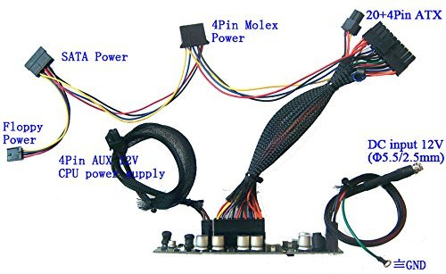 250w DC-ATX 12v Mini Itx Power Supply | Pico Atom Htpc Car Auto PSU itx PC Power Supplies