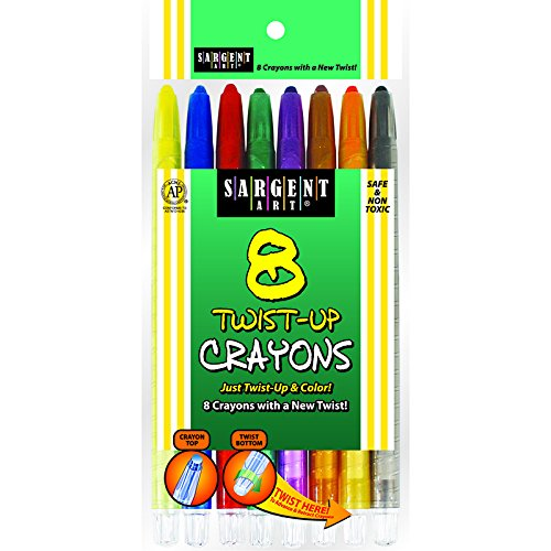 SARGENT ART INC. 8CT TWIST UP CRAYON (Set of 36) by Sargent Art