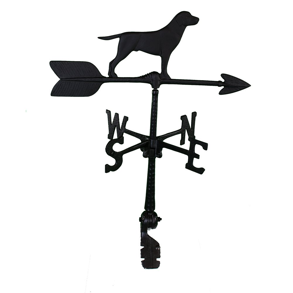 Montague Metal Products 24-Inch Weathervane with Retriever Ornament WV-179