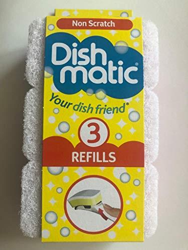 Dishmatic Navulverpakkingen, krast niet, 3 per verpakking.