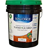 Seal Once 3110 premixed Nano Guard Premium Wood Sealer Cedar 5-gallon
