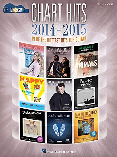 Chart Hits of 2014-2015 - Strum & Sing Guitar: 19 of the Hottest Hits for Guitar - Taylor Swift Sheet Music Guitar
